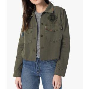 Joe's Jeans 'Marie' Military Cropped Jacket, Sz M